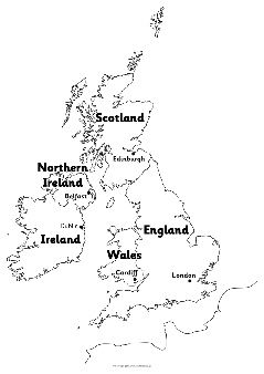 Giant maps of the british isles black and white sb11918 giant maps of the british isles black and white sb11918 sparklebox publicscrutiny Choice Image