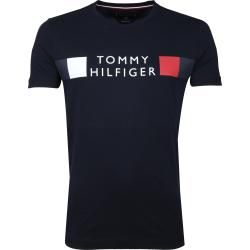 Photo of Tommy Hilfiger T-Shirt Logo Blau Tommy Hilfiger