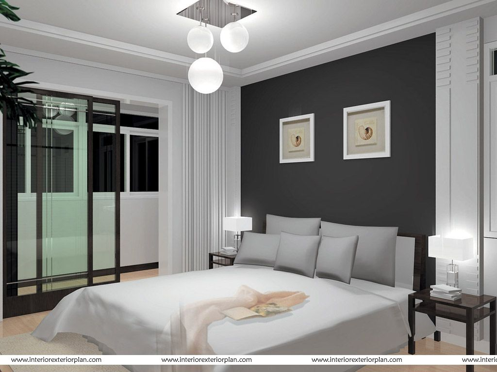 Pictures of grey and white rooms interior exterior plan for Bedroom ideas grey