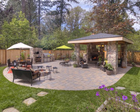Stand Alone Patio Designs : Standalone patio ideas outdoor wicker furniture outdoor rooms