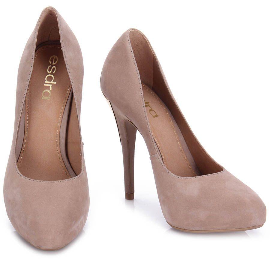 581c6c45a1 Sapato Feminino Esdra Caravela 029 - Bege - Passarela.com