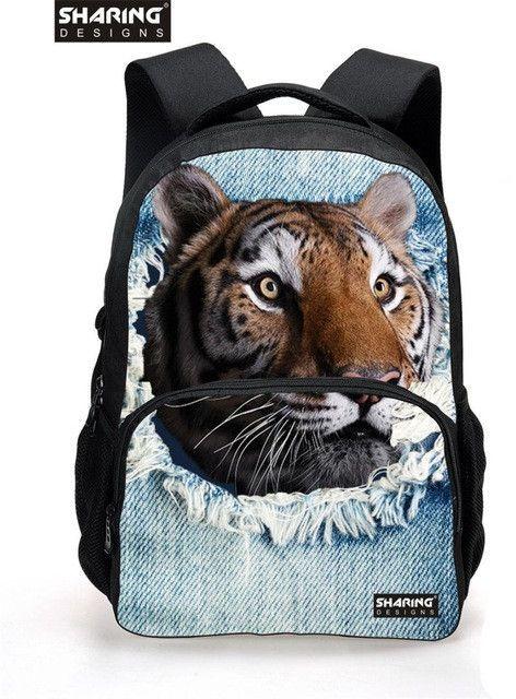 0960b76645 2017 Famous Brand school bags Women Vintage Cute Cat Head School Backpacks  for Teenager Girls Student
