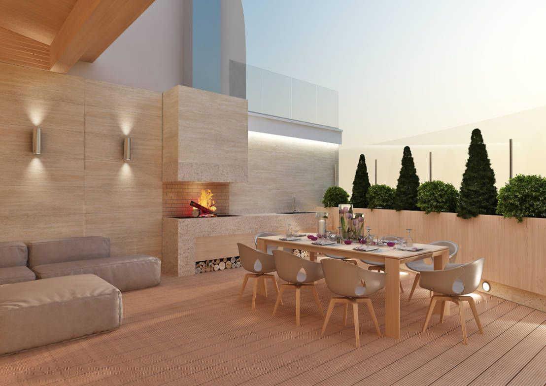 Pisos de madera para terrazas modernas 6 cosas que debes - Azulejos de terraza ...