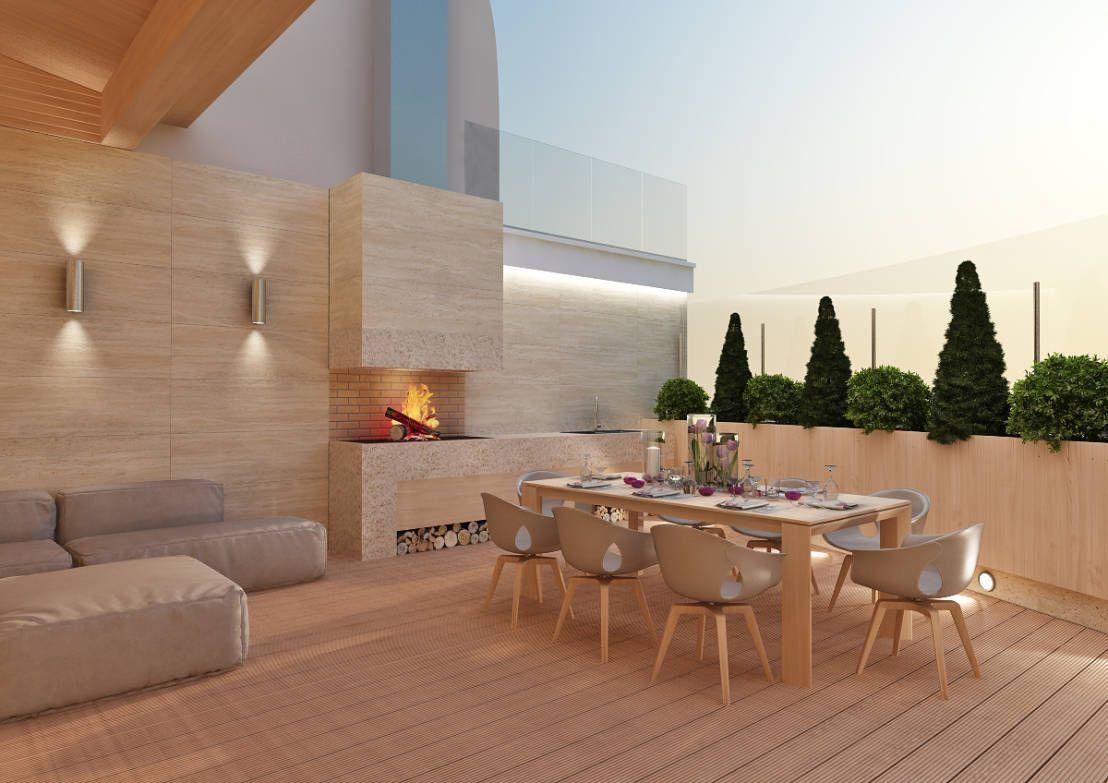 Pisos de madera para terrazas modernas 6 cosas que debes - Decoracion de patios y terrazas ...