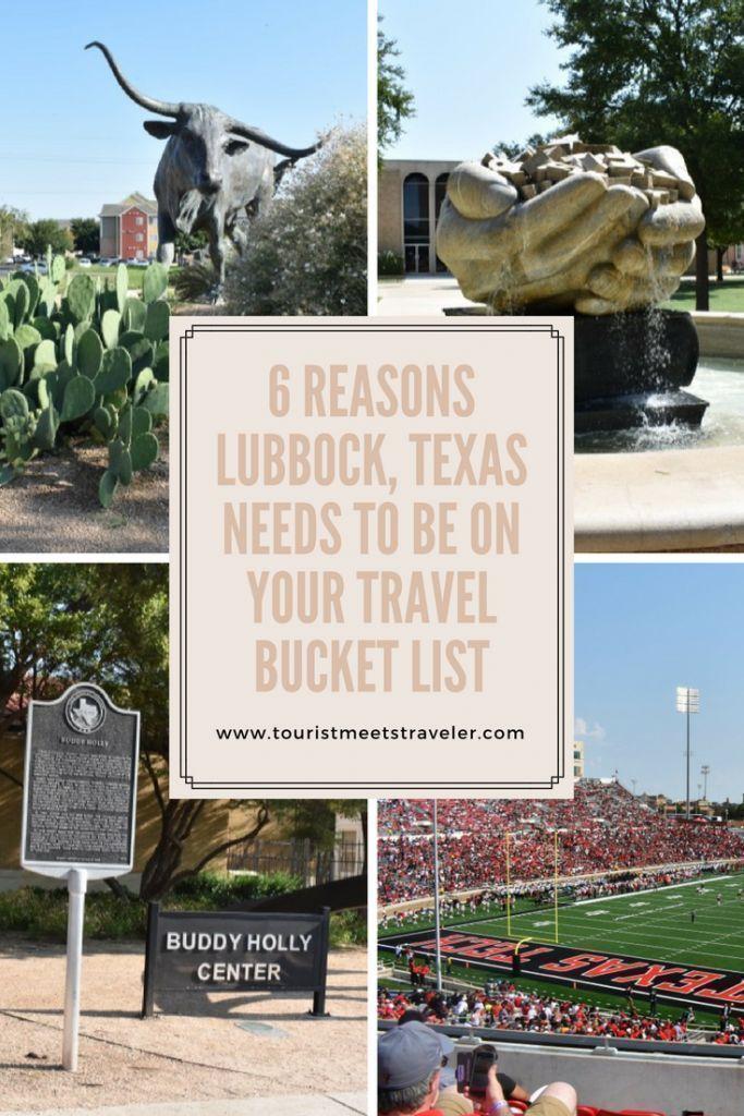 6 Reasons Lubbock, Texas Needs To Be On Your Travel Bucket List #LiveLoveLubbock -   17 travel destinations Texas kids ideas