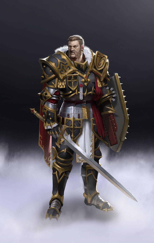 Pin by Javier Perez on Fantasy Paladins & Knights in 2019 | Fantasy armor, Fantasy characters ...