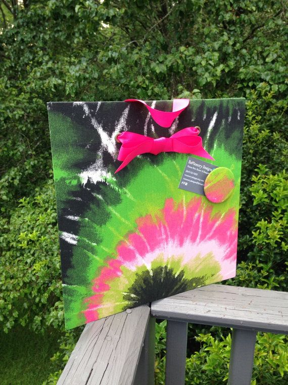 Tie Dye, Magnet Board, Wall Decor, Magnet Board, Bulletin Board ...