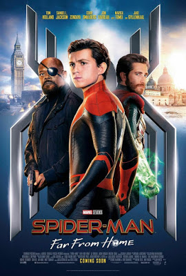 SPIDERMAN FAR FROM HOME Trailers, TV Spots, Clips