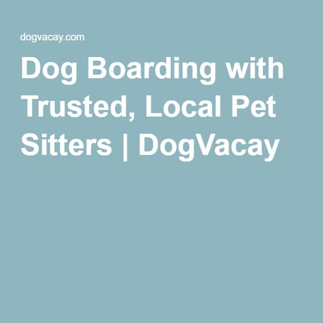Dog Boarding with Trusted, Local Pet Sitters | DogVacay