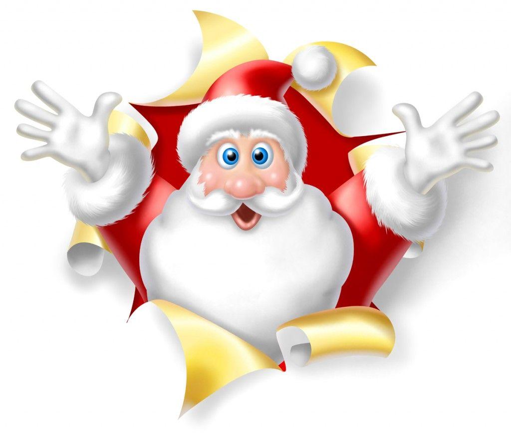 Father Christmas Cartoon Images.Pin On Christmas Santa Clause