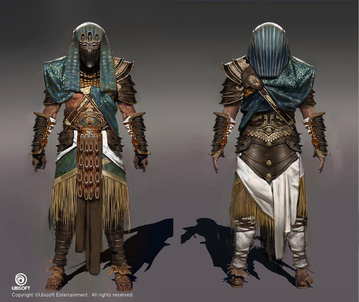 Artstation Assassin S Creed Origins Misc Bayek Outfits Jeff