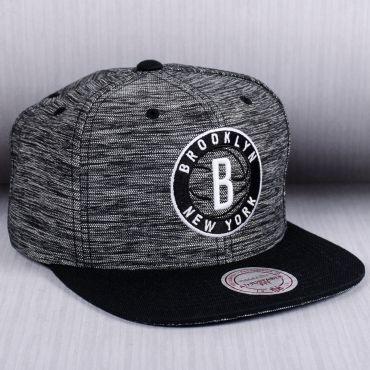 Mitchell   Ness NBA Brooklyn Nets Prime Knit Snapback Cap  9b17f2fab9d
