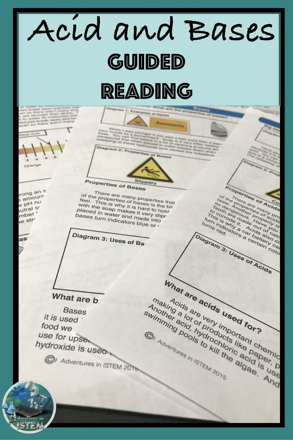 Acids and Bases Guided Reading   Expository text ...