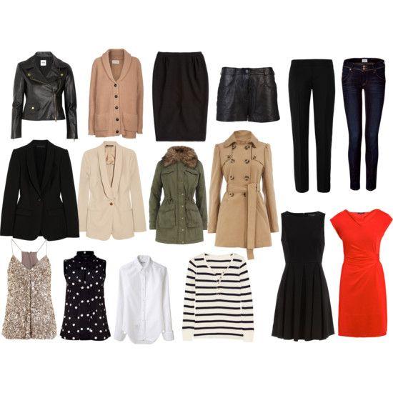 combinacion ropa basicas Prendas básicas para tu closet
