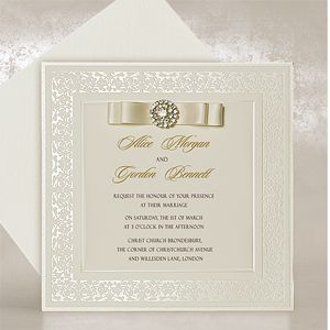 Luxury Design Wedding Invitations UK
