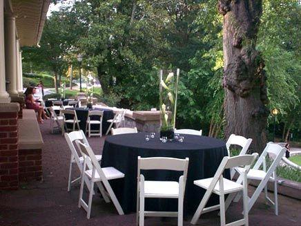 Dockside Piedmont Park Atlanta Rental White Resin Chair