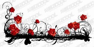 Red Black Rose Border Safesearch Norton Com Image Search Results Black And Red Black Rose Image