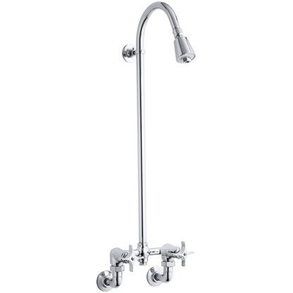 Kohler Industrial Exposed Shower with Reversible Yoke and
