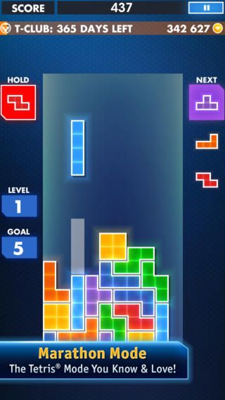 Top iPhone Game #52: TETRIS® - Electronic Arts by Electronic Arts - 03/03/2014