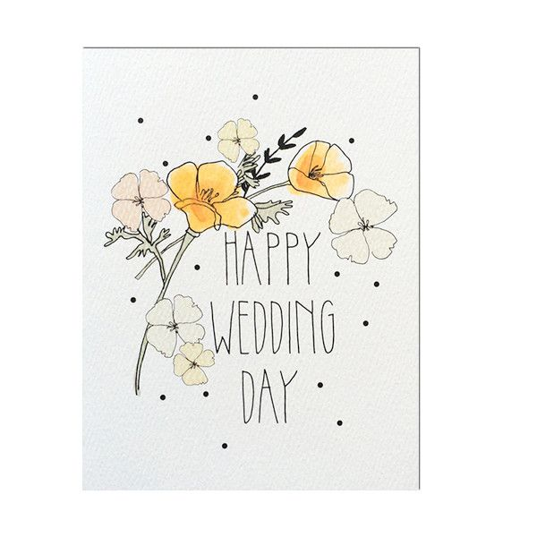 Explore Happy Wedding Day Card Designs And More