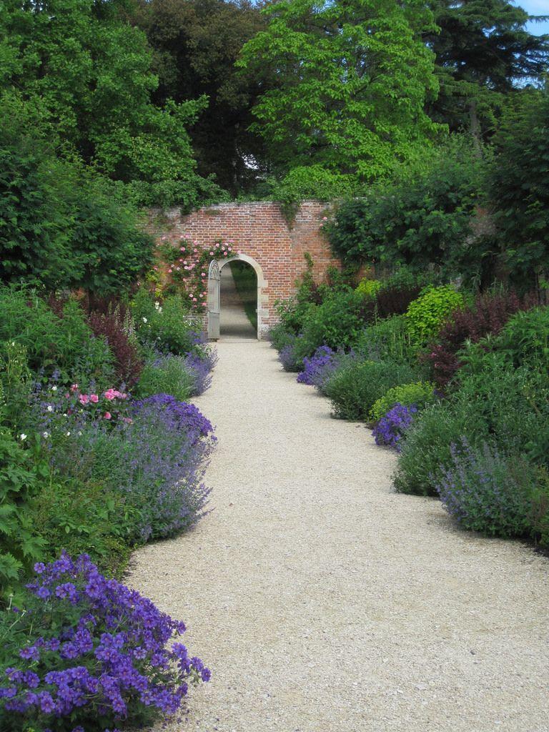 Flowers In The Wall Garden - Flowers in the walled garden by john of witney