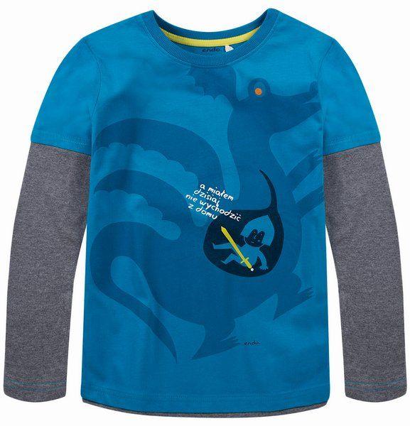 T-shirt dla chłopca. Kolekcja: Dla walecznych rycerzy i odważnych księżniczek