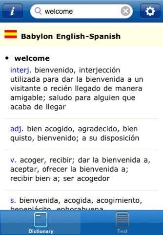 Multilanguage dictionary and translator app (free!) App