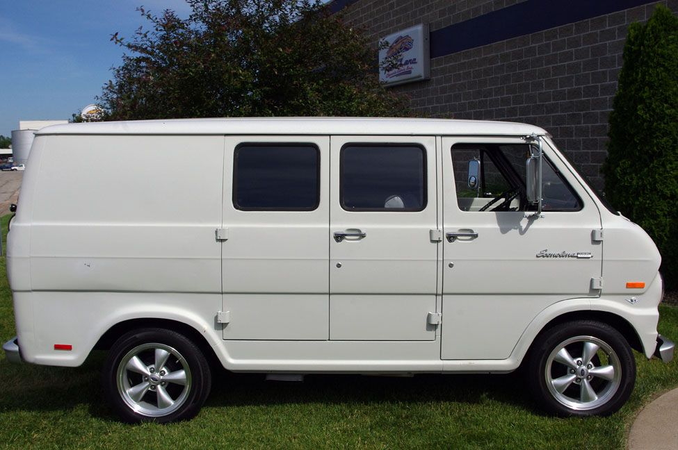 1969 Ford Econoline 1969 Ford Econoline 100 Super Shorty Van At