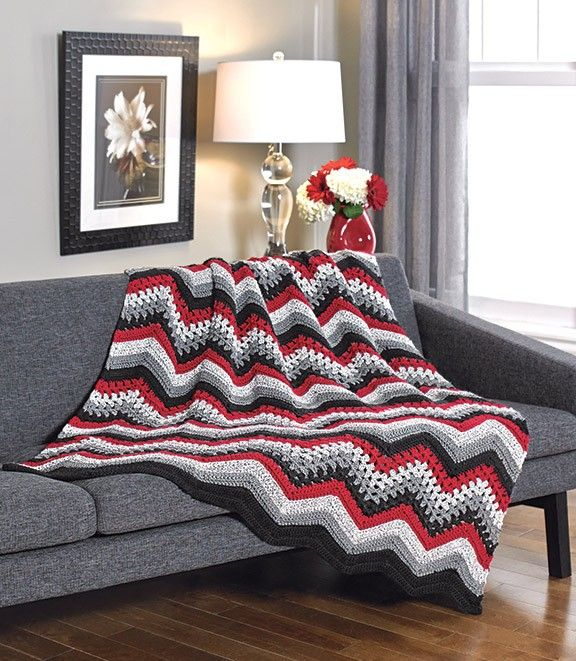 Ripples and Lace Throw - Starlette Ragg