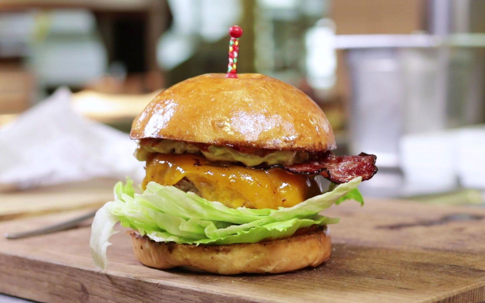 Jetzt Ein Burger
