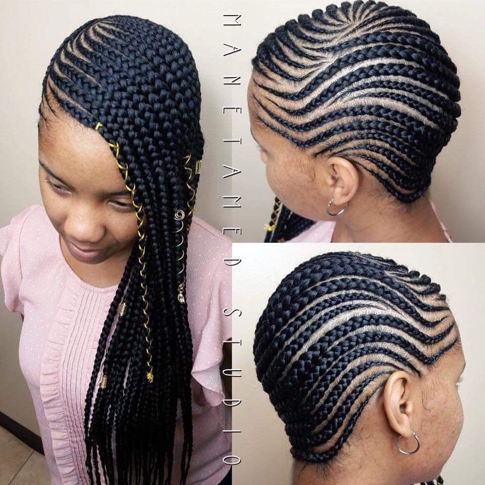 Medium Lemonade Braids Lemonades Lemonade Braids Beyonce Braids Side Cornrows Feed Side Cornrows Lemonade Braids Hairstyles Braided Cornrow Hairstyles