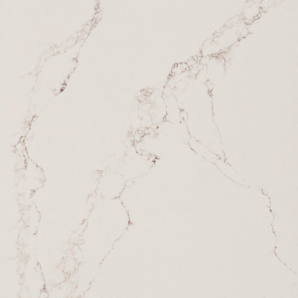 Caesarstone 10 In X 5 In Quartz Countertop Sample In Statuario