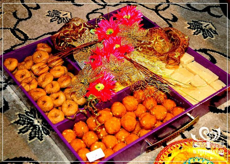 Mehndi Thaal Decoration Ideas I : Amazing thaal decoration ideas with sweets for different events