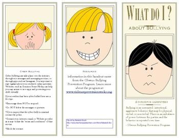 Bullying Prevention Brochures