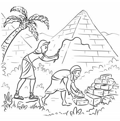 passover plagues coloring pages - photo#22