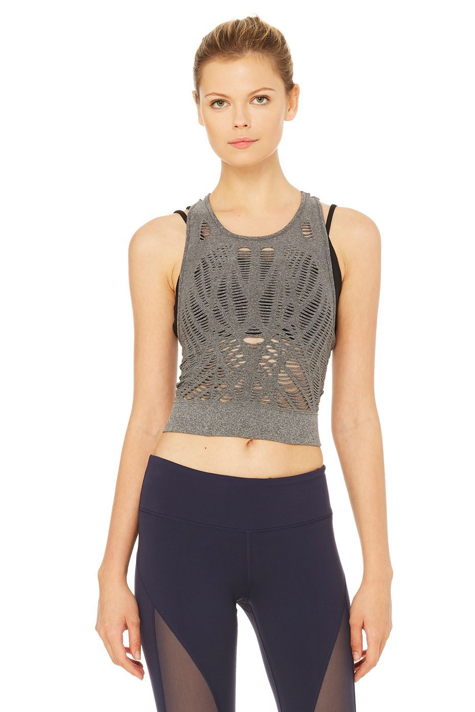 b342f0fc88 Vixen Fitted Crop Tank | Sporty Fashion | Sexy workout clothes, Yoga ...