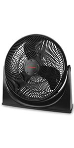 NEW Honeywell TurboForce Air Circulator Fan Small Portable Cooling Black 11 in.