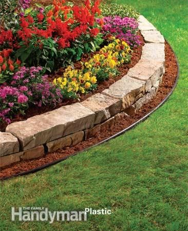 Plastic Garden Edging Ideas finding painless advice of garden edging ideas fussy Explore Plastic Edging Lawn Maintenance And More