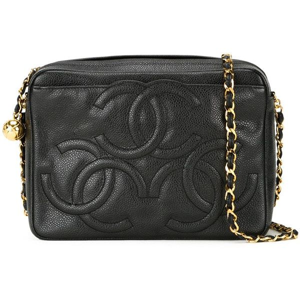 3bfd7ef7628e Shop Chanel Vintage Embossed Logo Crossbody Bag at Modalist |... (323,605  INR) ❤ liked on Polyvore featuring bags, handbags, shoulder bags, ...
