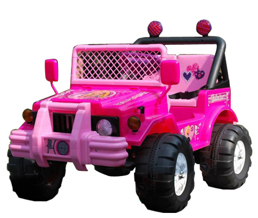 Pink 12v Little Girls 2 Seat Rideon Jeep £159.95 Kids