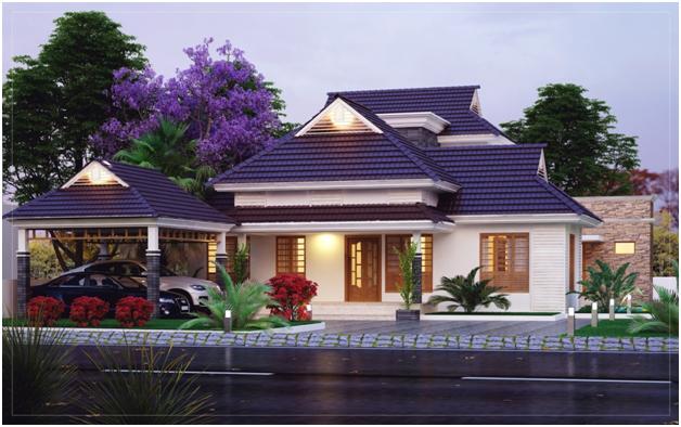 Ground Floor 2274 Sq Ft Villa Design Kerala House Design