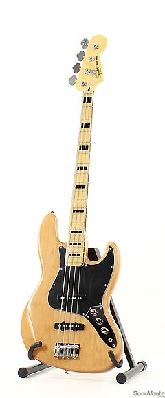 Squier Vintage Modified Jazz Bass 70s Naturel Squier Music Stuff Bass