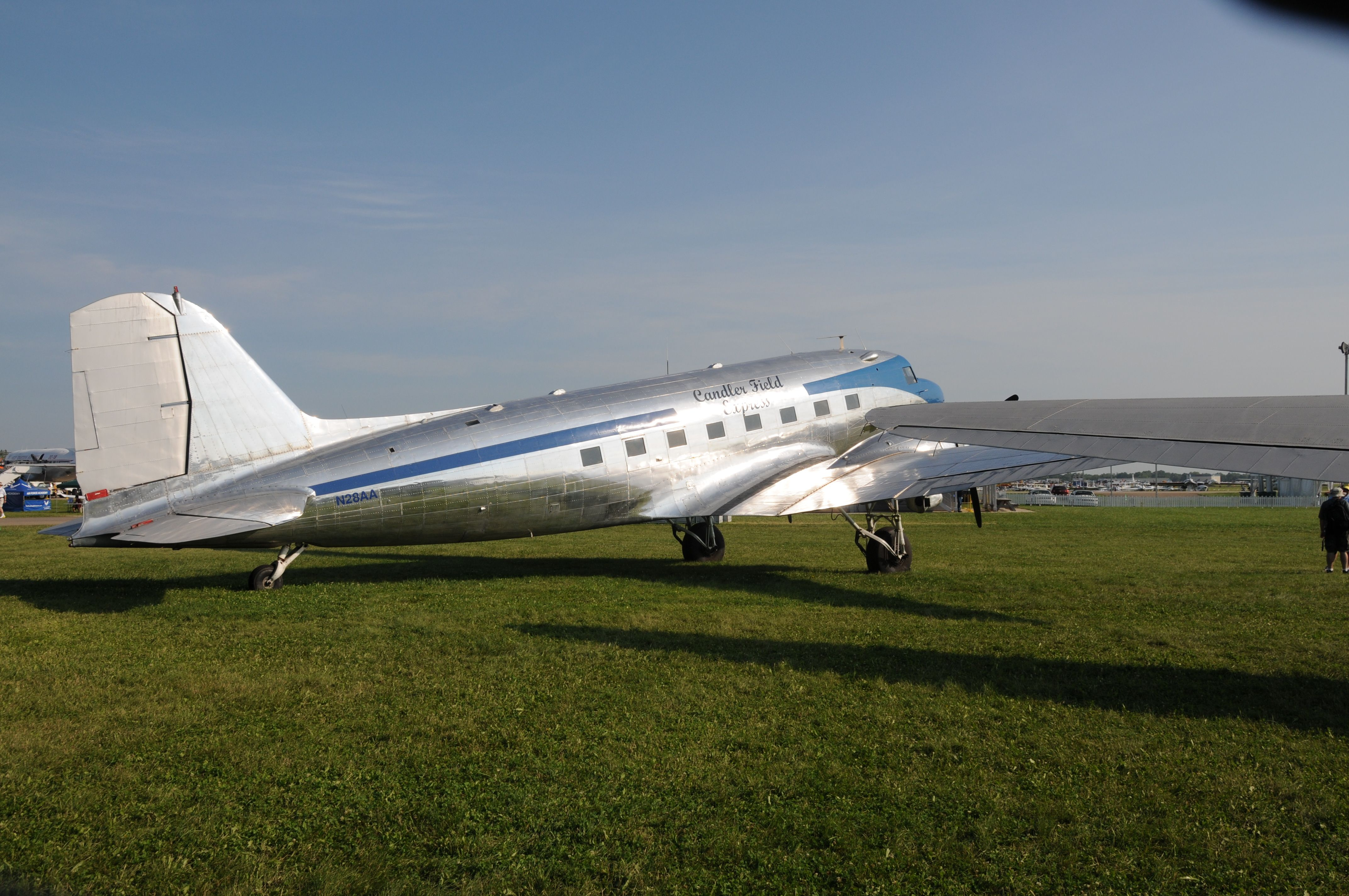 DC-3, 75th anniversary fly-in, 2010.