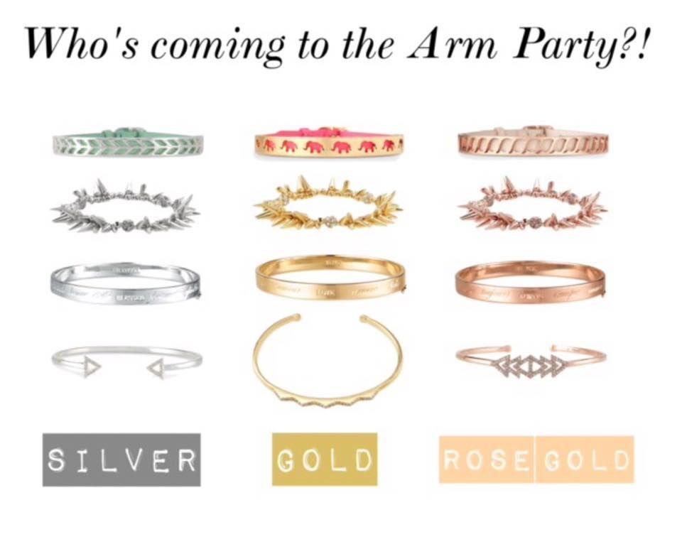 Love these arm parties! www.stelladot.com/elizabethhelen