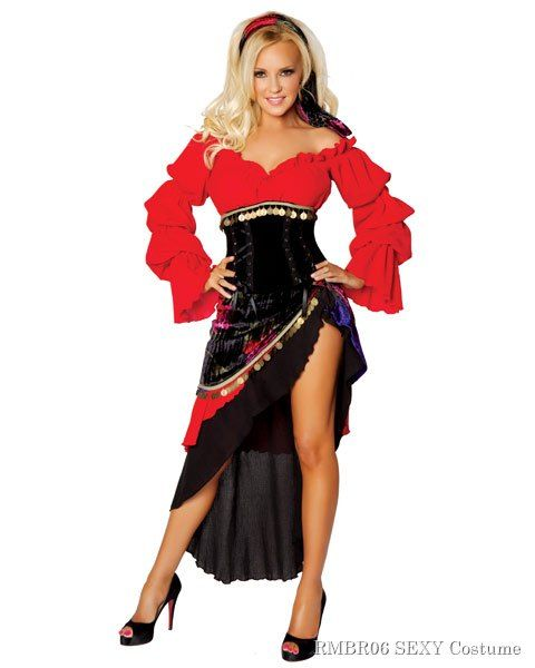 76793d4feb Deluxe Sexy Bridget by Roma Gypsy Women s Costume