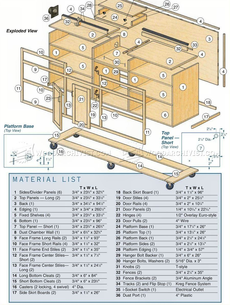 Image Result For Ultimate Miter Saw Stand Plans Pdf Garage Ideas