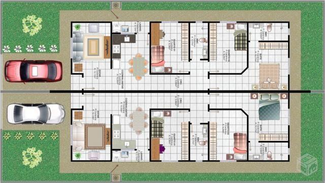 Casa geminada no Bairro Itinga com 3 quartos