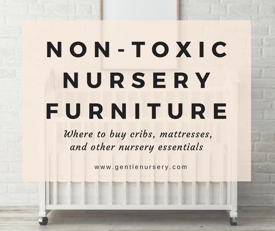 Non-Toxic Cribs + Baby Furniture | Paint rug, Crib mattress and Baby ...