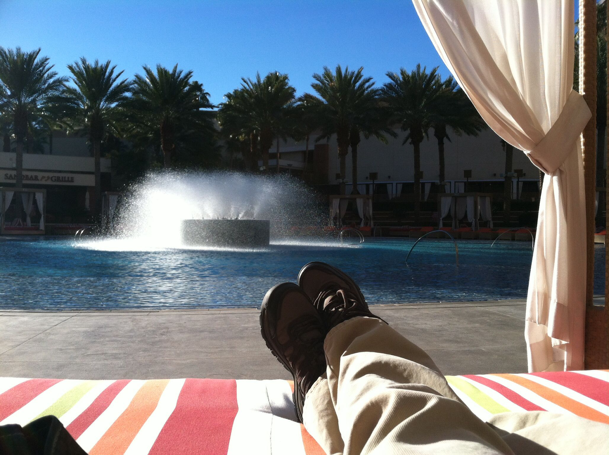 Relaxing at Red Rock