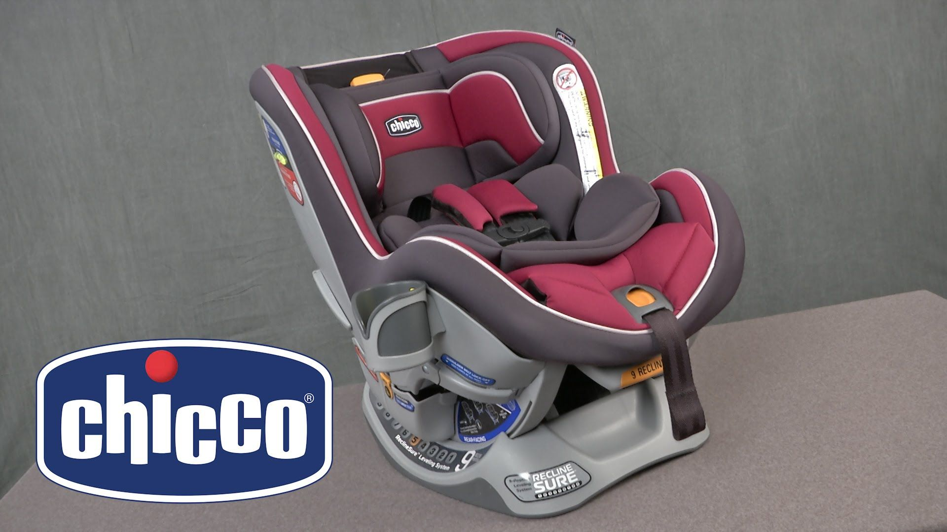 Chicco NextFit Convertible Car Seat Rear Facing And Forward Designed